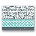 Refined Choice Personalized Note Card