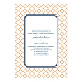 Classic Precision -- Creative Wedding Invitations