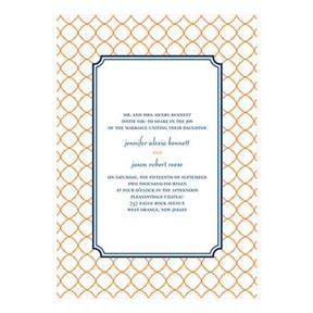 Classic Precision -- Creative Wedding Invitations