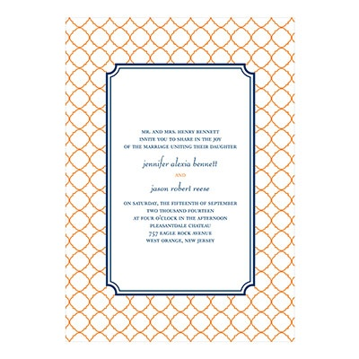 Classic Precision Creative Wedding Invitations