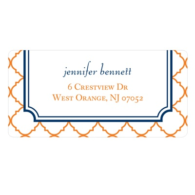Classic Precision Personalized Wedding Address Labels