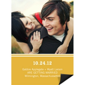 Simply Getting Married -- Save the Date Magnet