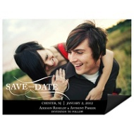 As the Wind Blows Horizontal Photo Save the Date Magnets