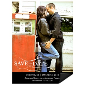 As the Wind Blows -- Save the Date Photo Magnets