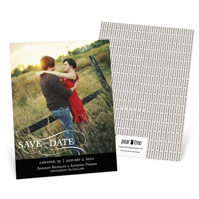 As the Wind Blows Save the Date Photo Card