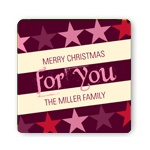 Rockin' Christmas in Pink -- Christmas Gift Stickers