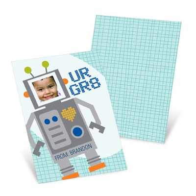 Robot Greatness Valentine's Day Cards for Kids