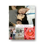 Triple Photo Effect -- Save the Date Photo Card