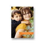 Banners and Branches -- Vertical Thanksgiving Photo Cards