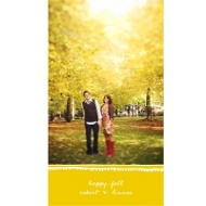 Happy Fall Thanksgiving Photo Cards