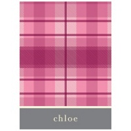 Playful Plaid in Pink