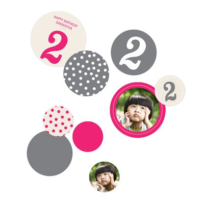 Numbers and Dots Kids Party Decorations