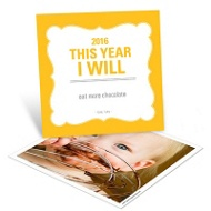 What's Your Resolution? Photo New Year's Cards