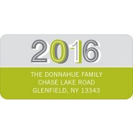 Year 2013 New Year's Address Labels