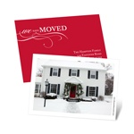 Holiday Move -- Photo Moving Announcement