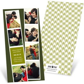 Photo Booth Strips -- Save the Date Cards