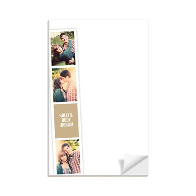 Photo Booth Strips Custom Notepads