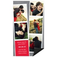 Photo Booth Save the Date Magnets