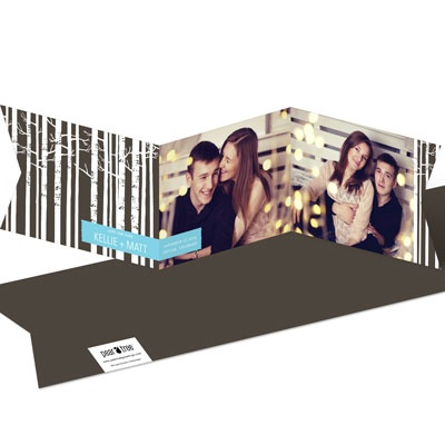 Sitting In A Tree Save The Date Cards