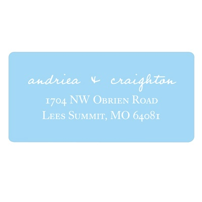 Simple Script -- Save the Date Address Labels