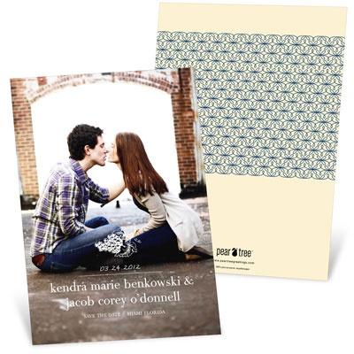 Fruitful Save The Date Cards