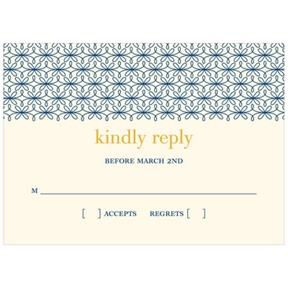 Classic Swirls -- Response Cards