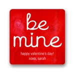 Be Mine --  Valentine's Day Personalized Stickers
