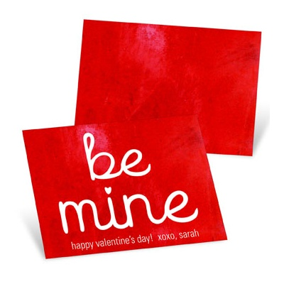 Be Mine Valentine's Day Cards for Kids