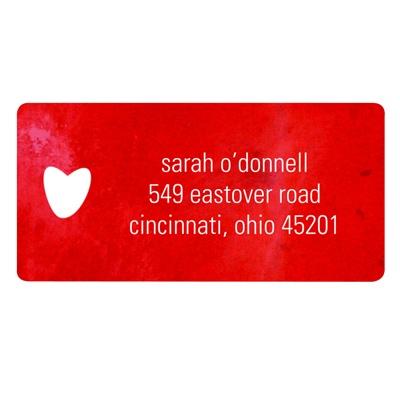 Be Mine Valentine's Day Address Labels
