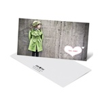 Cupid's Arrow Horizontal Photo -- Valentine's Day Photo Cards