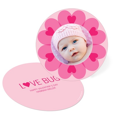 Kaleidoscope of Hearts -- Valentine's Day Photo Cards