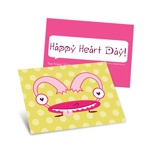 Monster Heart -- Kids Valentine's Day Cards
