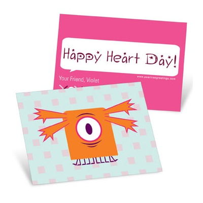 Monster Love Valentine's Day Cards for Kids