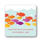Sea of Love -- Valentine's Day Personalized Stickers