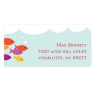 Sea of Love Valentine's Day Address Labels