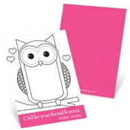 All Eyes on Owl --  Valentine's Day Cards for Kids