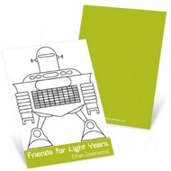 Robot Love --  Valentine's Day Cards for Kids
