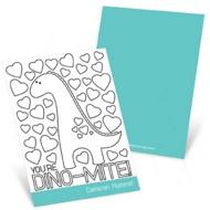 Dinosaur Fever --  Valentine's Day Cards for Kids