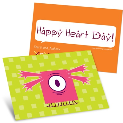 One Eye Love - Kids Valentine's Day Cards