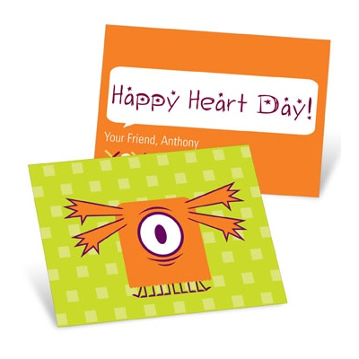One Eye Love Valentine's Day Cards for Kids