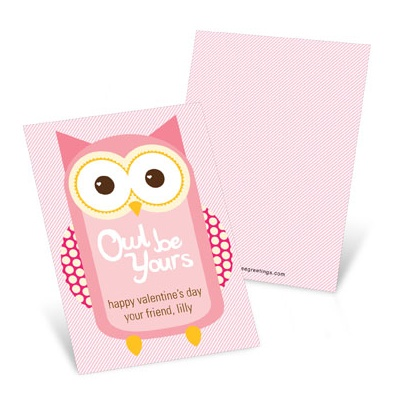 Whooo's Your Valentine? -- Valentine's Day Cards for Kids
