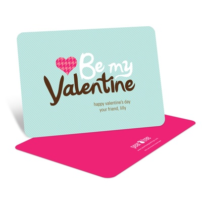 Stylish Message -- Kids Valentine's Day Cards