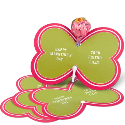 Bold Butterfly -- Candy Valentine Card