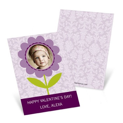 Flowered to Perfection Valentine's Day Cards for Kids