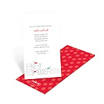 Ladybug Love -- Baby Shower Invitations