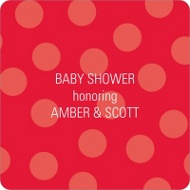 Ladybug Love Stickers Baby Shower Favor Tags