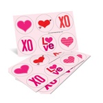 Full of Love -- Valentine Stickers
