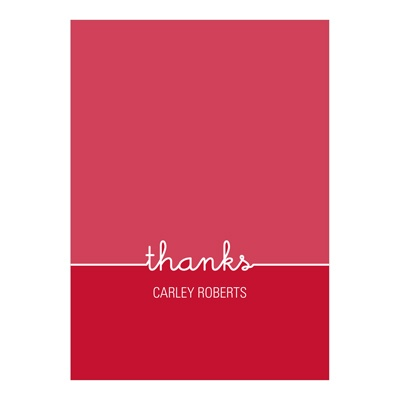 Top of the Class -- Graduation Thank You Card