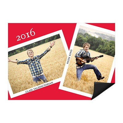 Snapshots and Memories Photo Magnet Mini Graduation Announcements