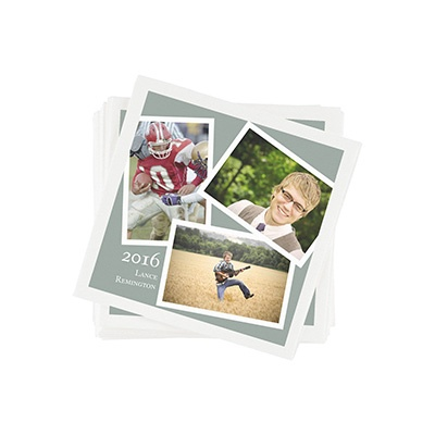 Senior Portraits -- Personalized Beverage Napkins